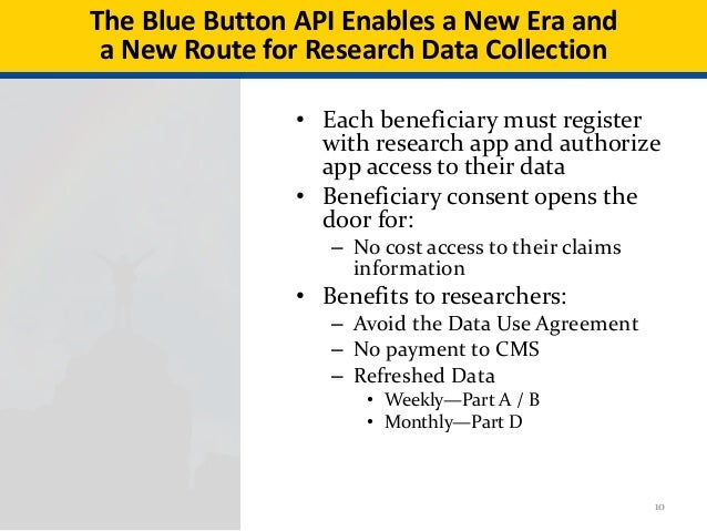 The Power Of Beneficiary Directed Data Cms Bluebutton On Fhir Api Up
