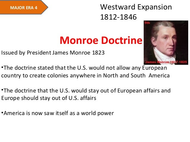 Roosevelt's Corollary to the Monroe Doctrine and Big Stick Policy Essay