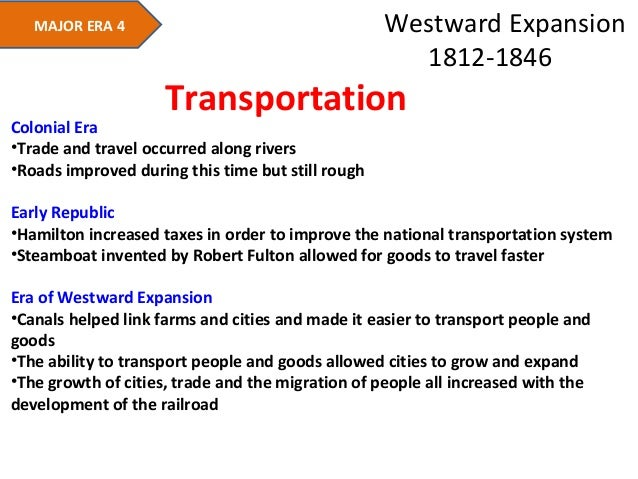 an analysis of the westward expansion Support analysis of primary and  • key events in westward expansion during the 1830s  how and why did the united states expand westward the 1830s and 1840s.