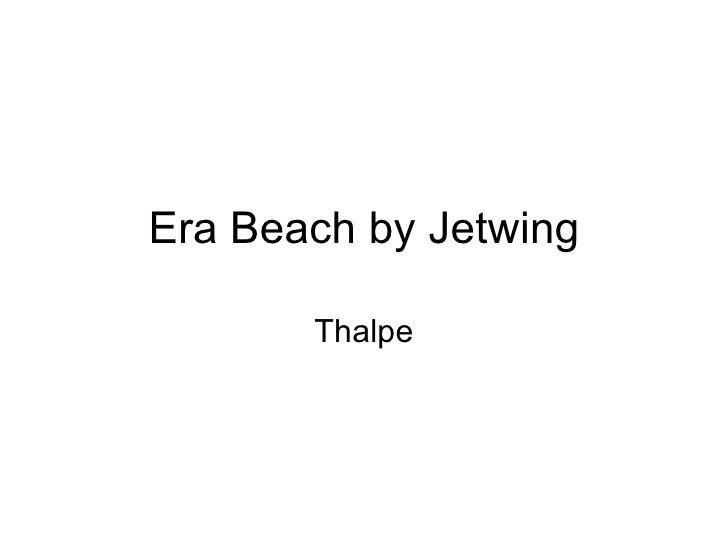 Era Beach by Jetwing Thalpe
