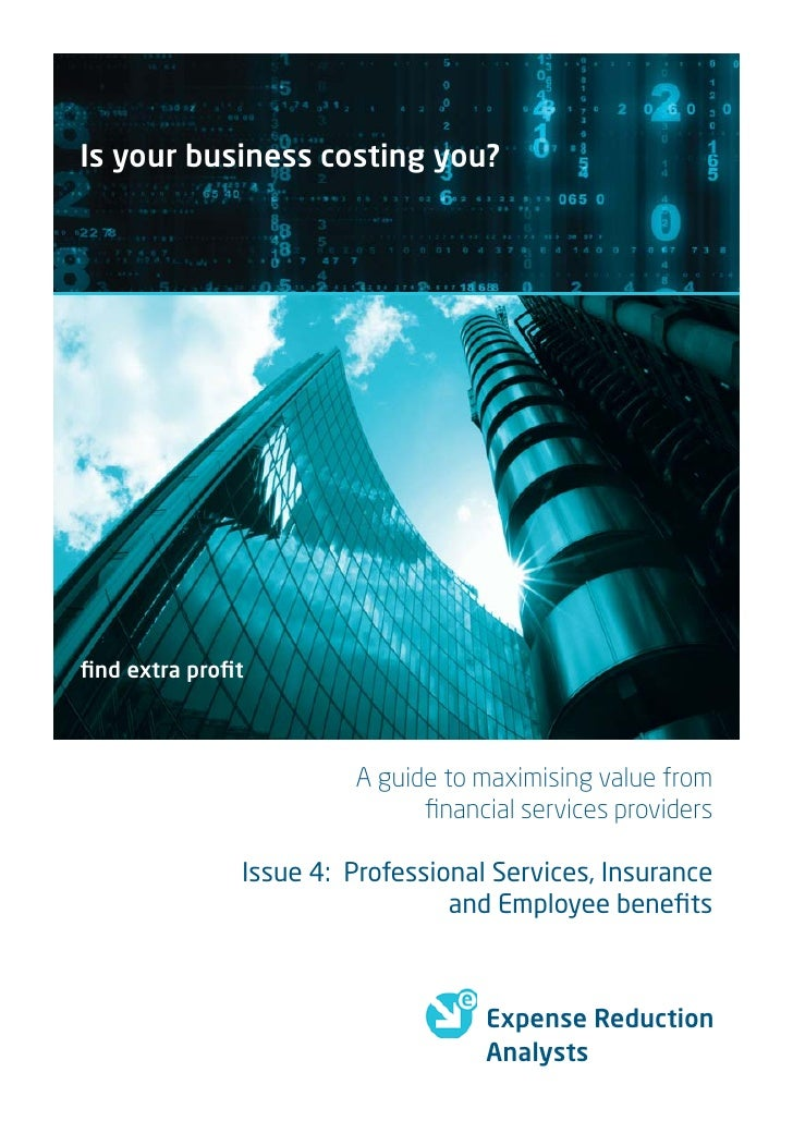 Is your business costing you?     find extra profit                           A guide to maximising value from              ...