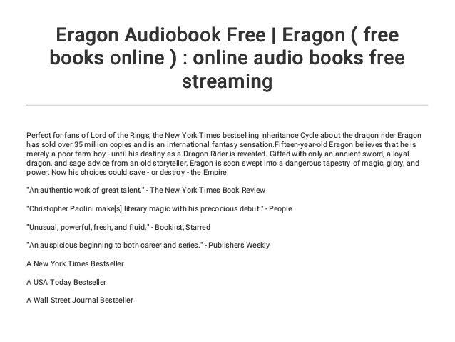 21+ Eragon Audiobook Free Online Pics