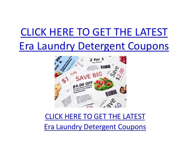 CLICK HERE TO GET THE LATESTEra Laundry Detergent Coupons    CLICK HERE TO GET THE LATEST    Era Laundry Detergent Coupons