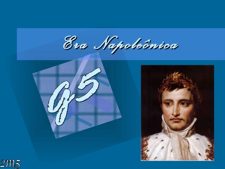 Era Napoleônica G5 2m5
