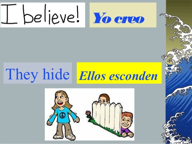 Er And Ir Spanish Verbs In The Present Tense