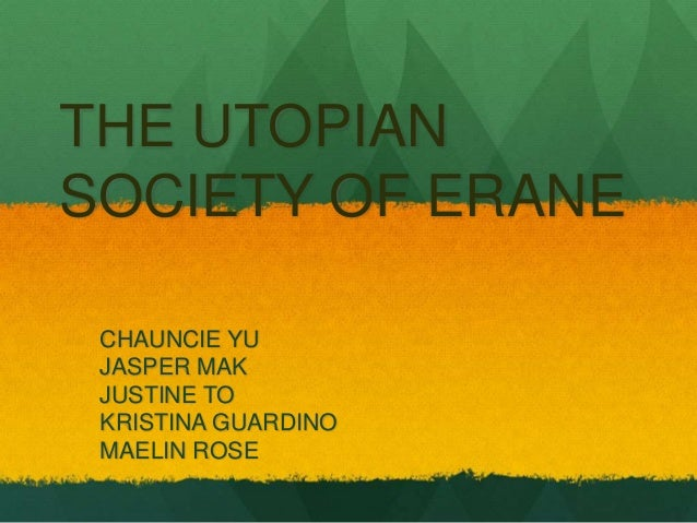 What Is a Utopian Society?