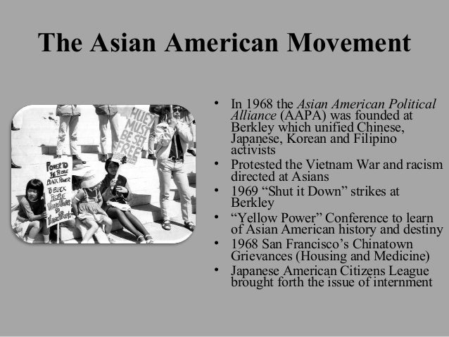 Asian american movement essay help