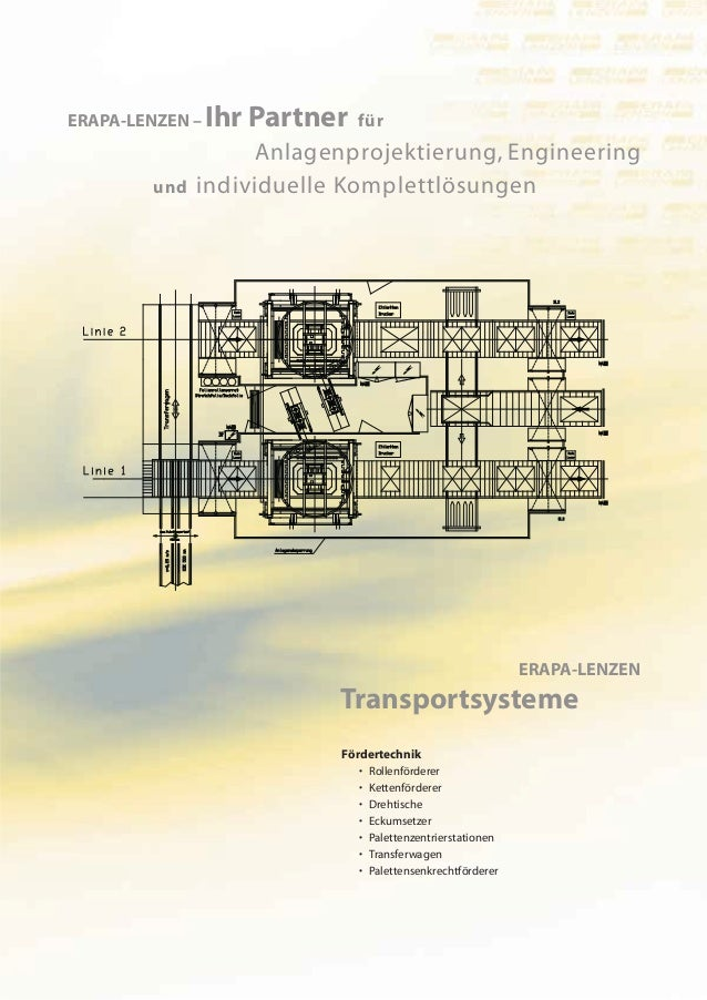 ERAPA-LENZEN –   Ihr Partner   für                   Anlagenprojektierung, Engineering        und   individuelle Komplettl...