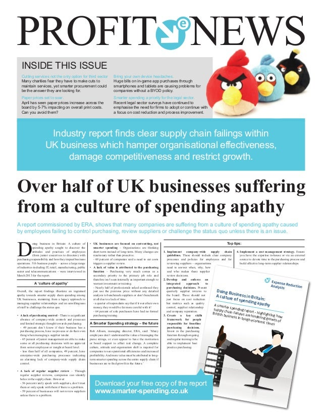 INSIDE THIS ISSUE Cutting services not the only option for third sector Many charities fear they have to make cuts to main...