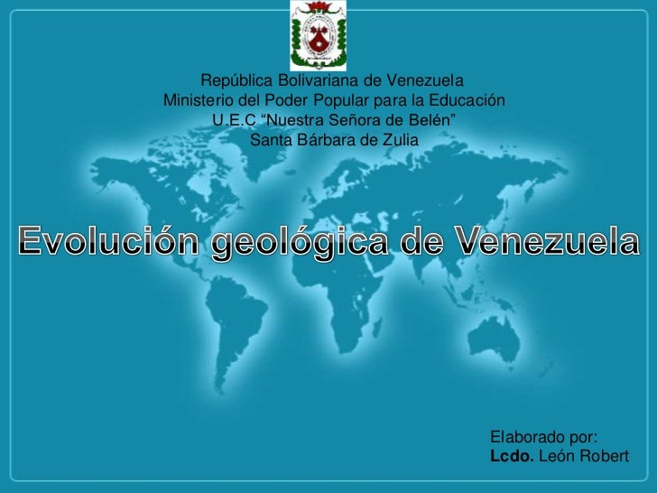 """República Bolivariana de VenezuelaMinisterio del Poder Popular para la Educación       U.E.C """"Nuestra Señora de Belén""""    ..."""