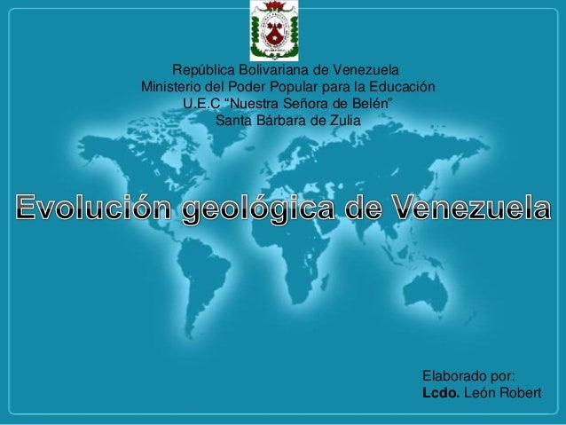 """República Bolivariana de Venezuela Ministerio del Poder Popular para la Educación U.E.C """"Nuestra Señora de Belén"""" Santa Bá..."""