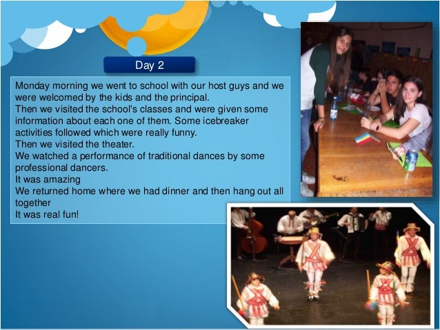 Diary of our stay in Romania - Greek team Slide 3