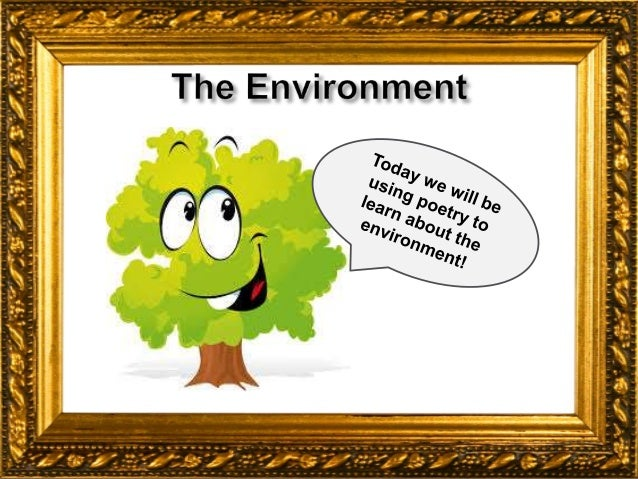 Erasmus Environment Environmental Poetry
