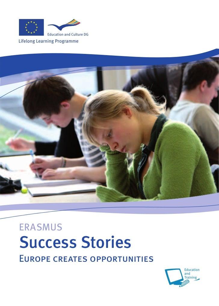 ERASMUSSuccess StoriesEurope creates opportunities