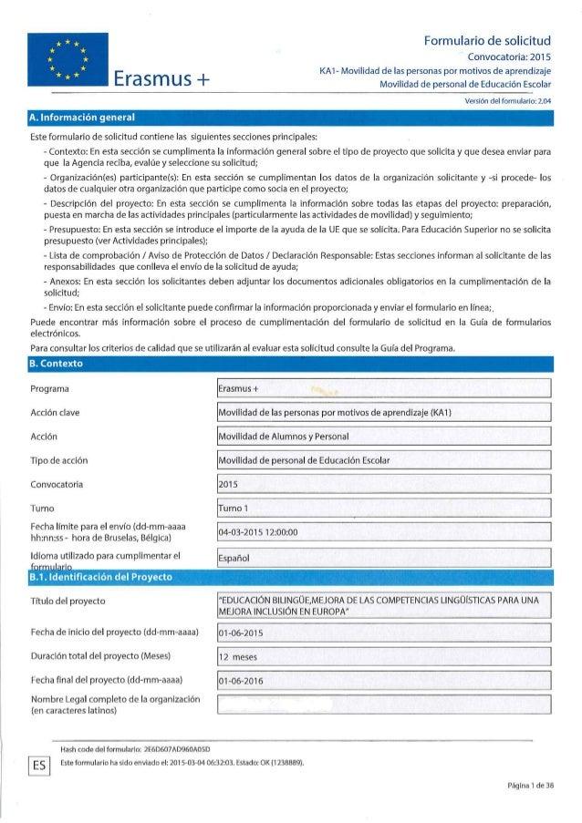 Erasmus 4. PROYECTO 4 EDUCACIÓN BILINGUE. MEJORA DE LAS COMPETENCIAS…