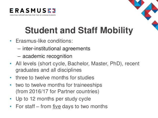 Erasmus International Dimension Credit Mobility