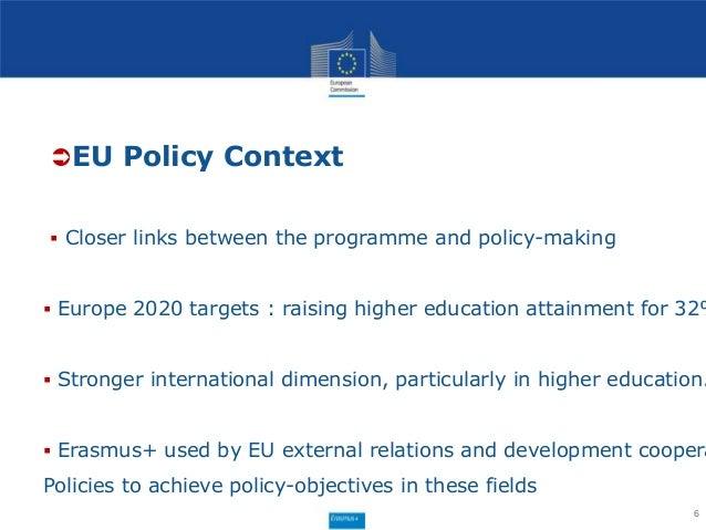 Erasmus+ international dimension credit mobility