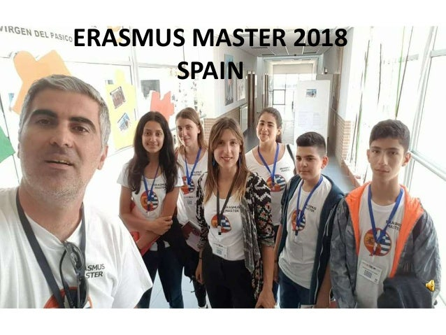 ERASMUS MASTER 2018 SPAIN