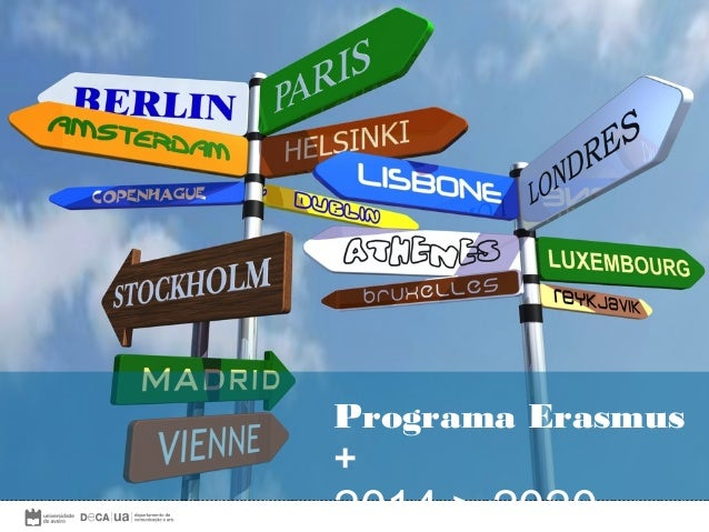 erasmus + em ctc  Programa Erasmus +  2014 > 2020