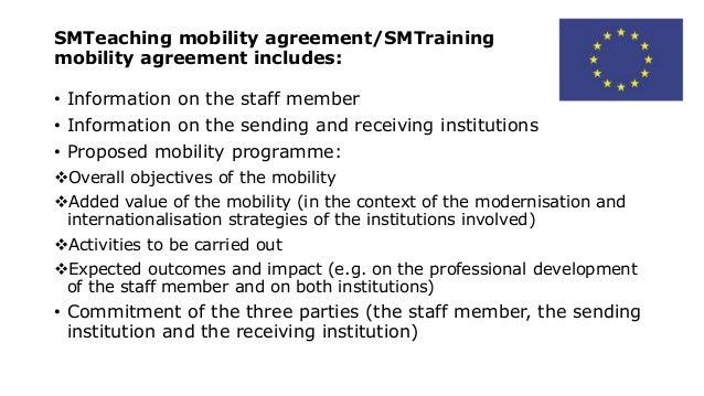 erasmus  staff mobility 2015 2016