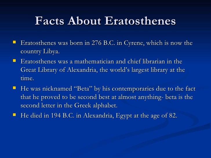 Eratosthenes Powerpoint