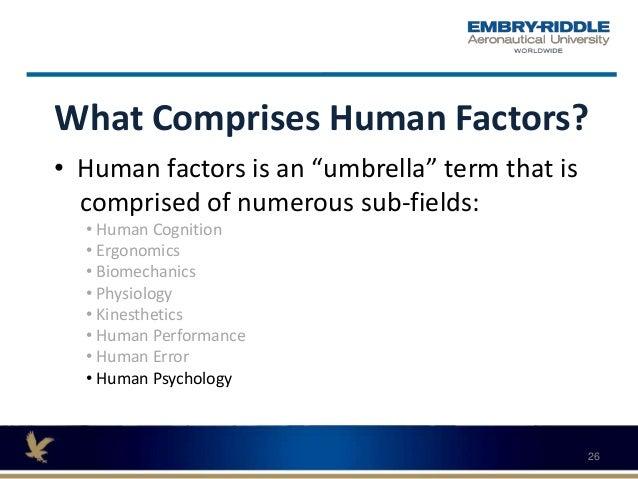 Erau webinar may 2017 human factors
