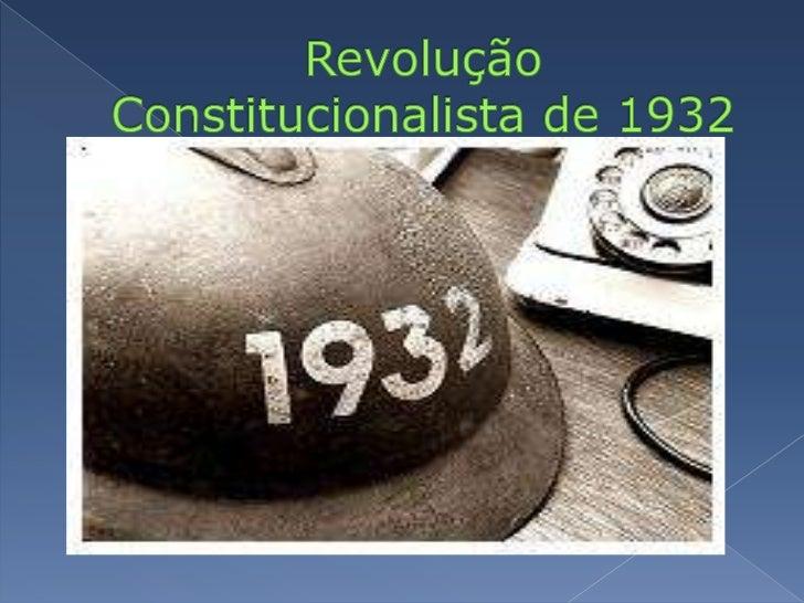 Revolução Constitucionalista de 1932<br />
