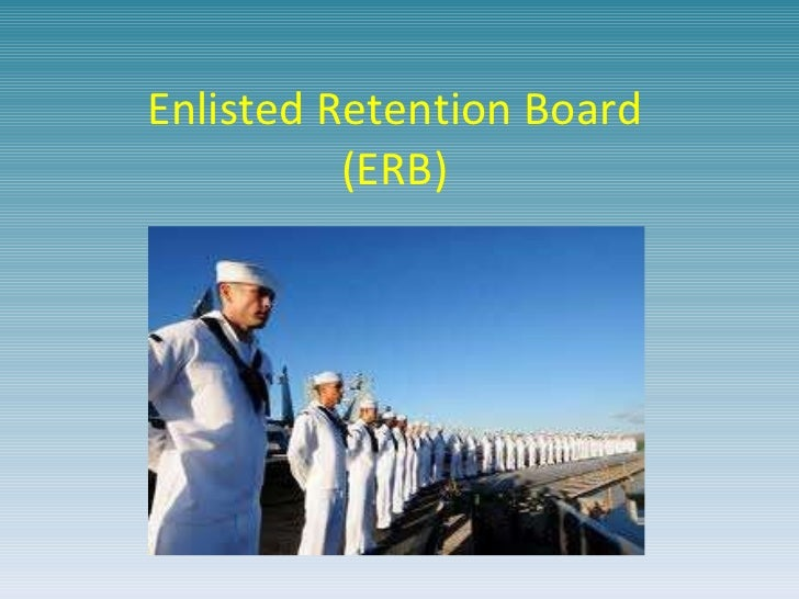 Enlisted Retention Board (ERB)