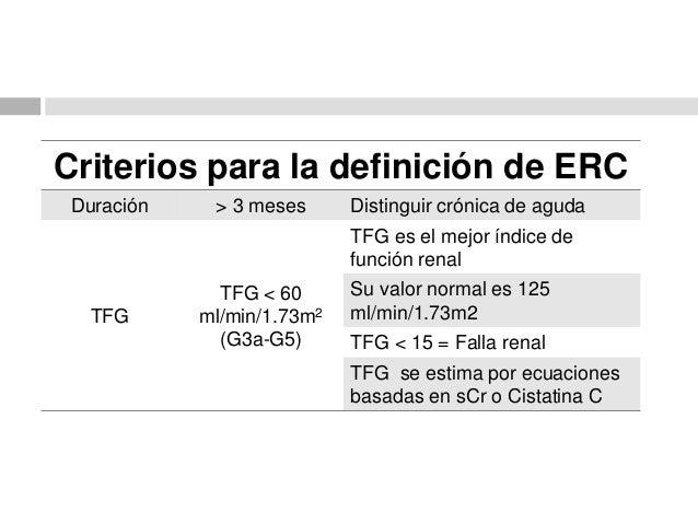 Enfermedad Renal Crónica 2014