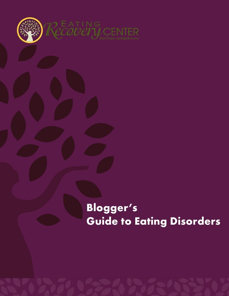 Blogger's Guide to Eating Disorders