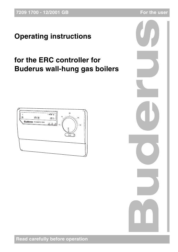 Buderus Logamatic Erc Manual English Pdf by wolfbanunfles - Issuu