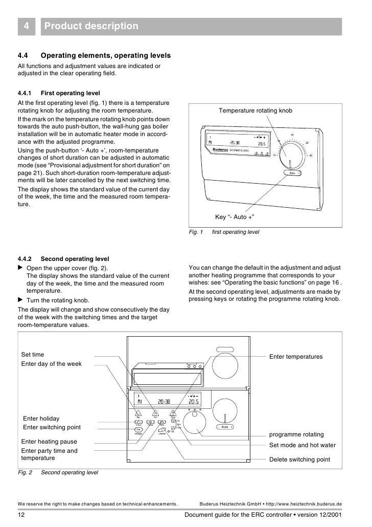 Amazing Buderus Ecomatic Erc Manual Wiring Digital Resources Honesemecshebarightsorg
