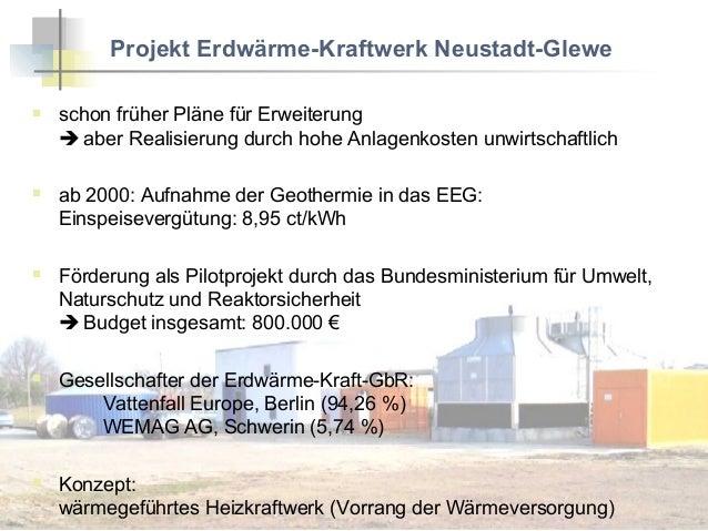 Erdwarme Heizkraftwerk Neustadt Glewe