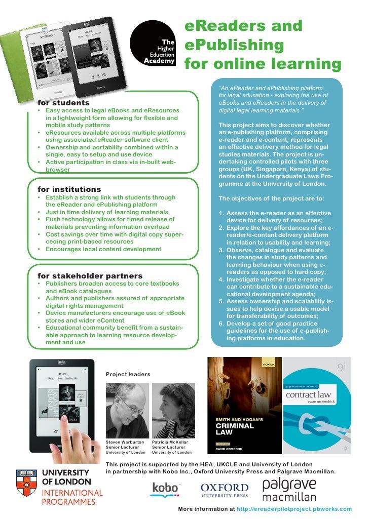 eReaders and                                                                                          ePublishing         ...