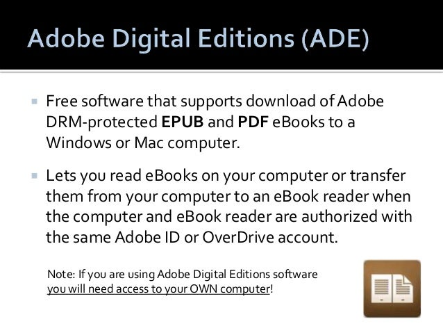  Kindle eReaders:   Only compatible with Kindle format eBooks.   DON'T need to download software or install apps.   DO...