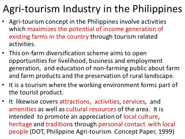 tourism development in the philippines About us – the asia foundation is a nonprofit international development organization committed to improving  philippines: tourism industry training.