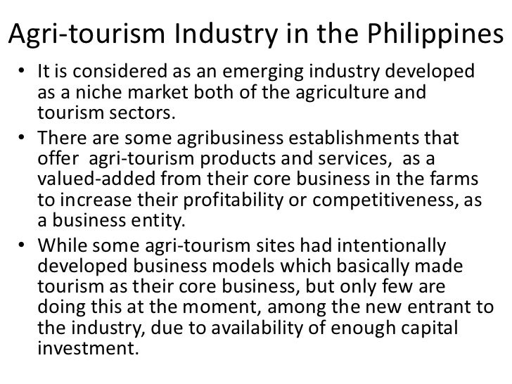 tourism development in the philippines Sustainable tourism indicators and destination management philippines 6 tourism development the workshop on sustainable tourism indicators and destination.