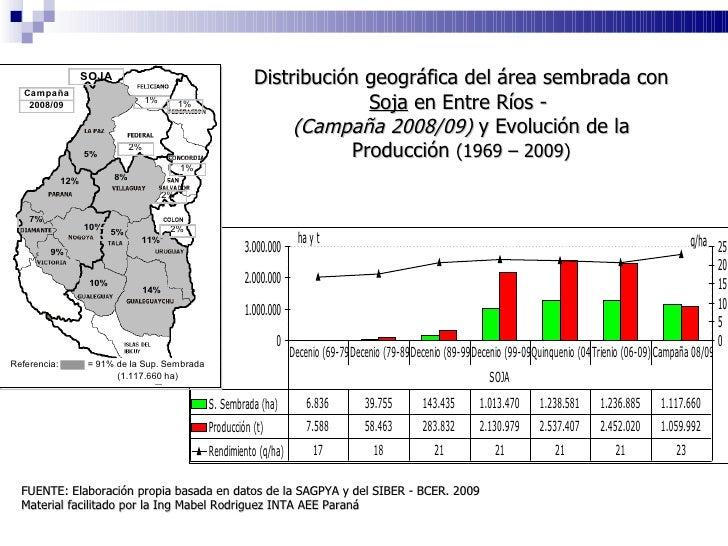 SORGO <ul><li>La  Superficie Total Sembrada  fue de  97.165 ha . </li></ul><ul><li>La  Superficie Total Cosechada  fue  88...