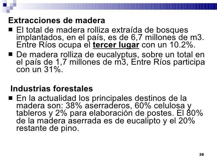 Entre Ríos tiene el 1º puesto en la producción Nacional