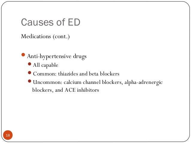 beta blockers erectile dysfunction