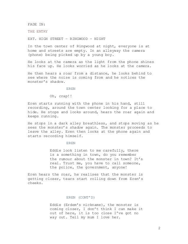 Finished Script