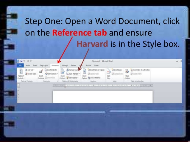 eResearch Using word bibliography to create a reference list or bib – Word Reference List