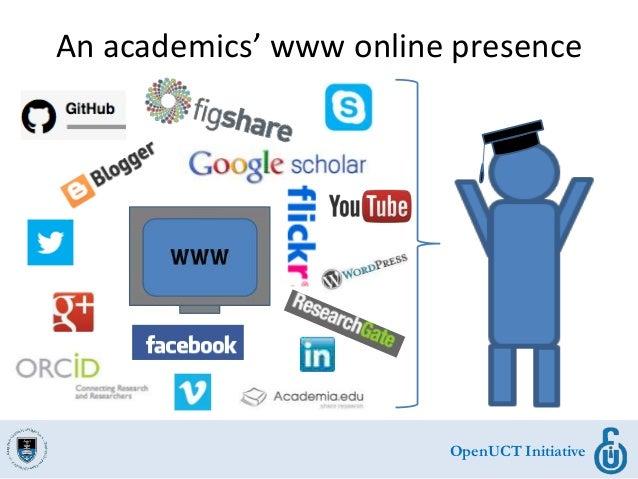OpenUCT Initiative An academics' www online presence