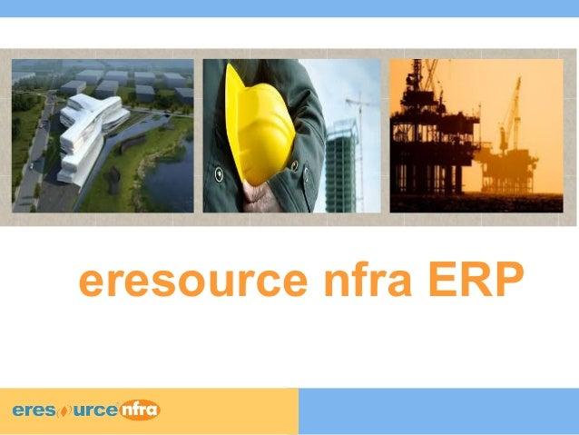 eresource nfra ERP