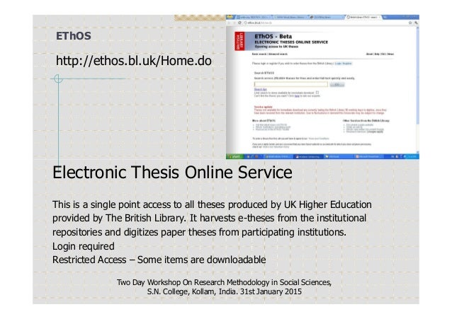 bl british thesis service