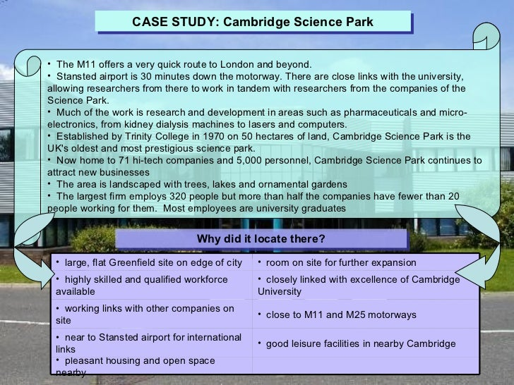 analysis of cambridge software case It is often necessary to produce a business case for  a detailed cost-benefit analysis calculates the net-present  the university of cambridge shall not be.