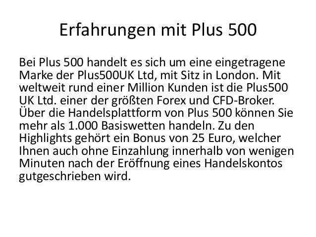 Erfahrungen mit Plus 500 Slide 3