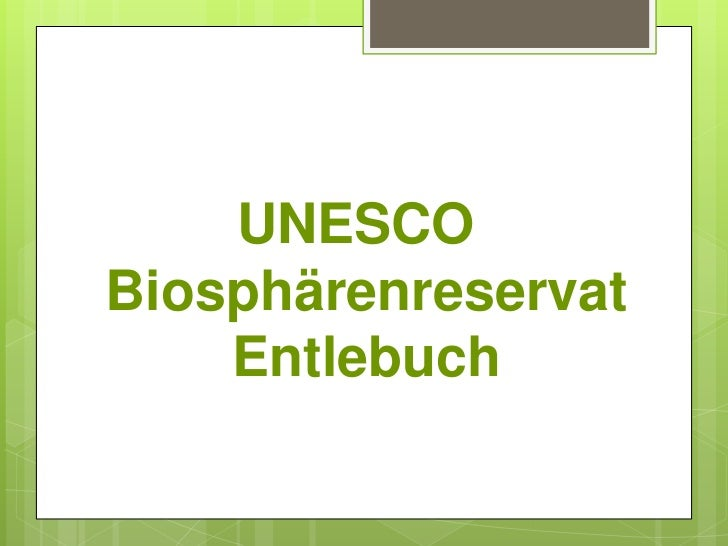 UNESCO Biosphärenreservat Entlebuch<br />