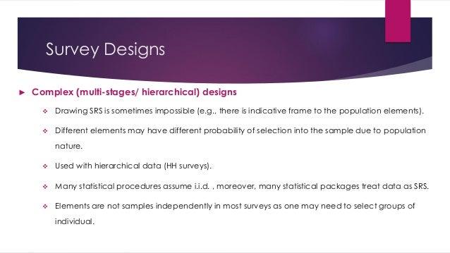Using STATA in Survey Data Analysis - Niveen El Zayat