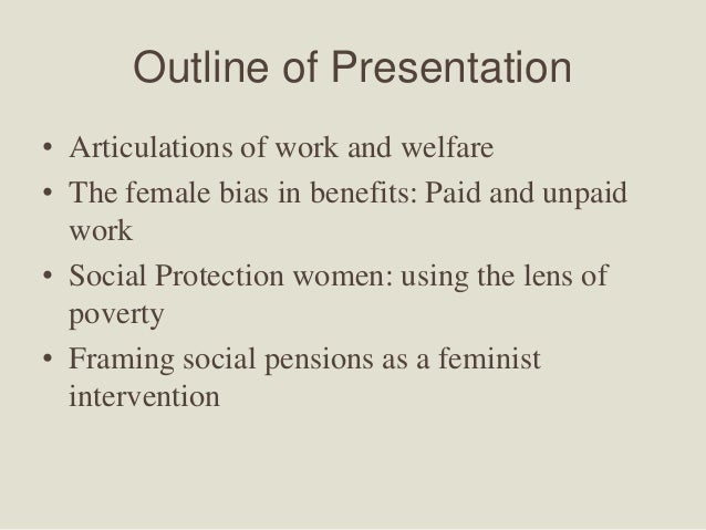 women and the welfare state Ment in the welfare state throughout the world of advanced industrial democ- racies some commentators trace this to deteriorating economic performance.